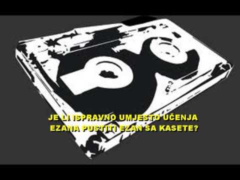 Photo of DA LI JE PUŠTANJE SNIMLJENOG EZANA SA KASETE ILI CD-a NOVOTARIJA