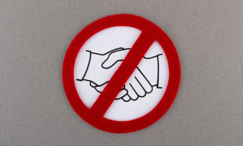 rukovanje sa ženom
